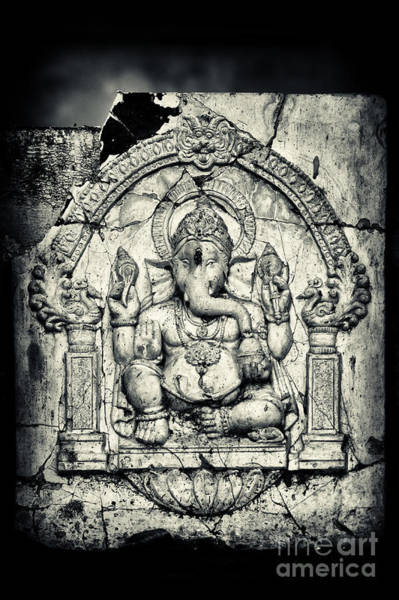Photograph - Ancient Ganesha by Tim Gainey