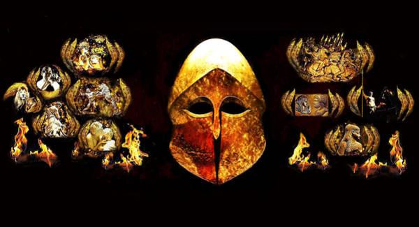Macedonia Digital Art - Ancient Hellenic Antiquity Part3 by Anastasios Aretos