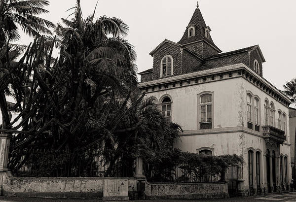 Photograph - Ancient Hotel And Lush Trees  by Joseph Amaral