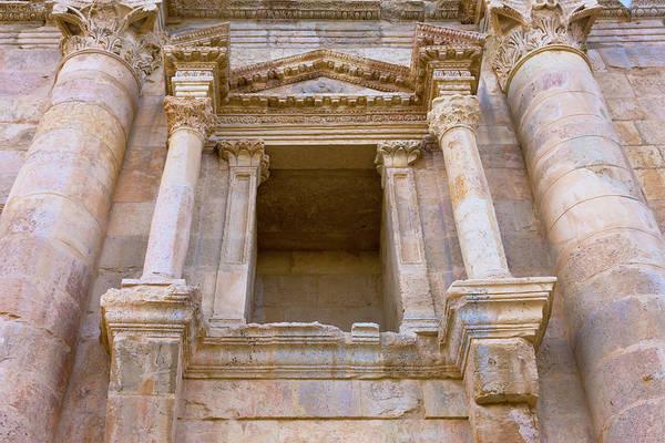 Jerash Photograph - Ancient Jerash Gate, Amman, Jordan by Keren Su