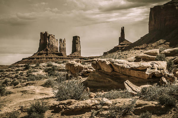 Monument Valley Photograph - Ancient Lands by Medicine Tree Studios