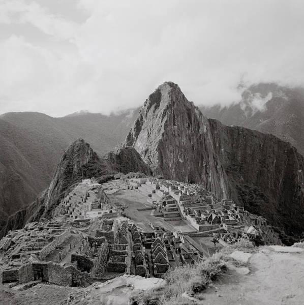 Photograph - Ancient Machu Picchu by Shaun Higson