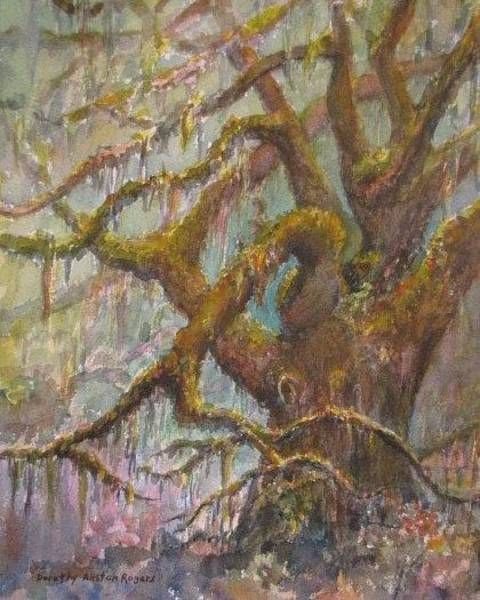 Painting - Ancient Oak by Dorothy Allston Rogers