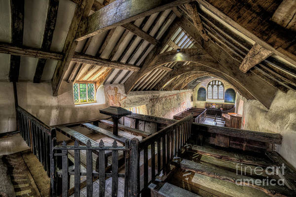 Triples Photograph - Ancient Pagan Chapel by Adrian Evans