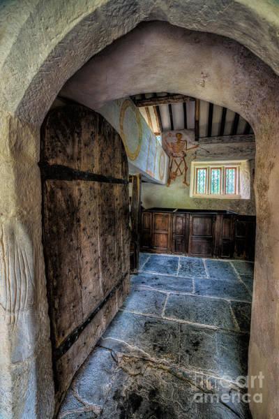 Hinges Photograph - Ancient Pagan Church by Adrian Evans