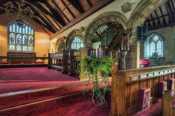 Photograph - Ancient Parish Church by Ian Mitchell
