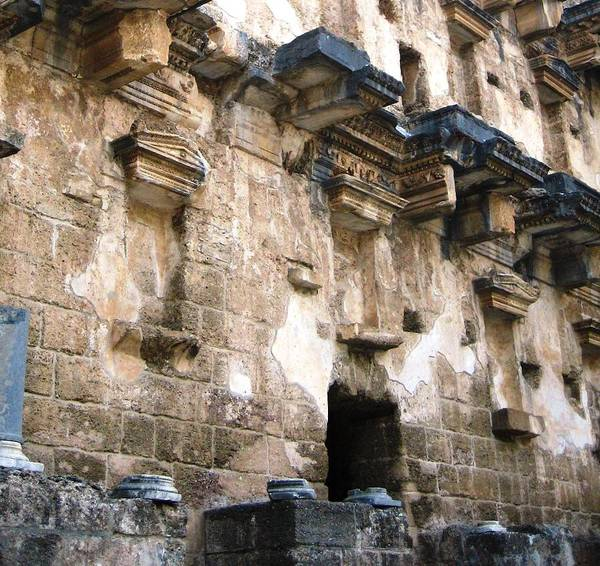 Eastern Anatolia Photograph - Ancient Roman Theater 4 by Teresa Ruiz