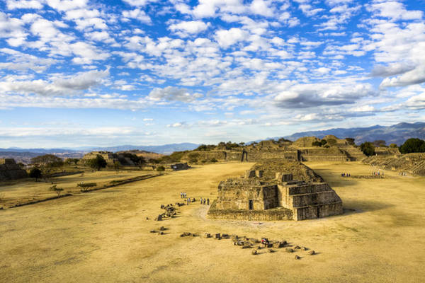 Wall Art - Photograph - Ancient Ruins Of A Zapotec Temple by Mark Tisdale
