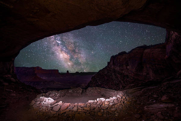 Art Print featuring the photograph Ancient Skies by Dustin  LeFevre