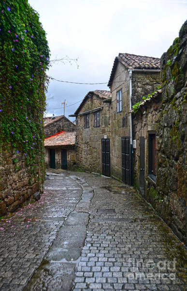 Galicia Photograph - Ancient Street In Tui by RicardMN Photography