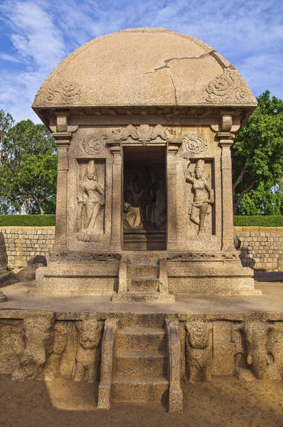 Photograph - Ancient Temple At Mamallapuram by Ross G Strachan