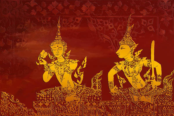 Catf Wall Art - Painting - Ancient Traditions  by Corporate Art Task Force