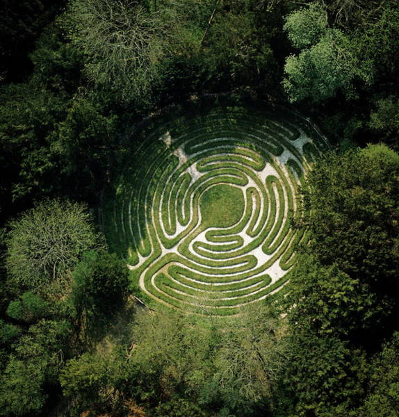 Wall Art - Photograph - Ancient Turf Maze by Skyscan/science Photo Library