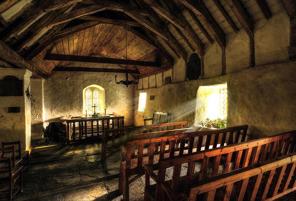 Wall Art - Photograph - Ancient Welsh Chapel by Mal Bray