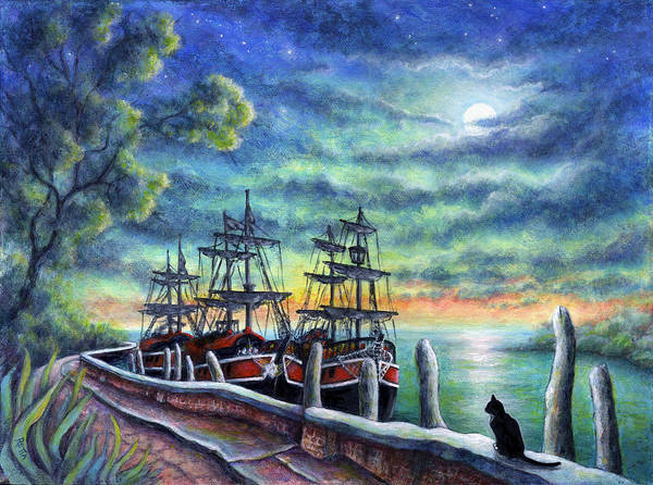 Painting - And We Shall Sail My Love And I by Retta Stephenson