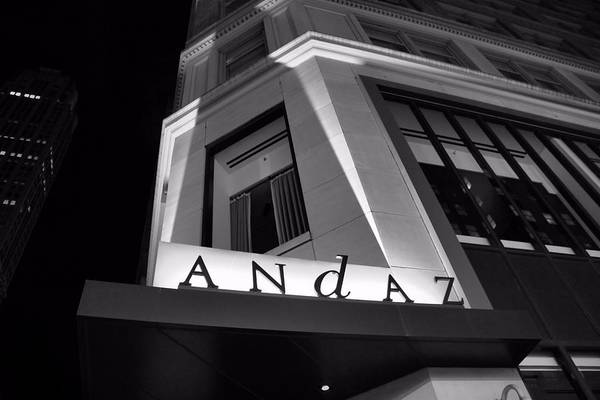 Photograph - Andaz Hotel On 5th Avenue by Dan Sproul