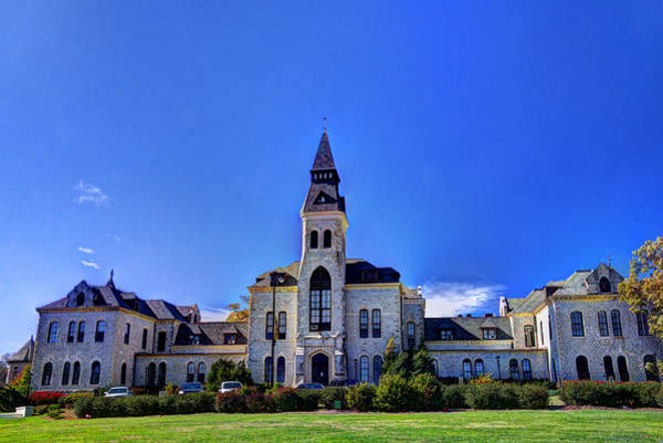 Kansas State University Photograph - Anderson Hall At K-state by Jean Hutchison