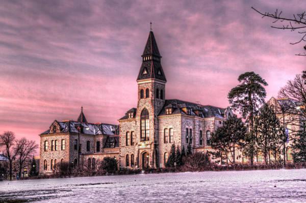 Kansas State University Photograph - Anderson Hall by Corey Cassaw