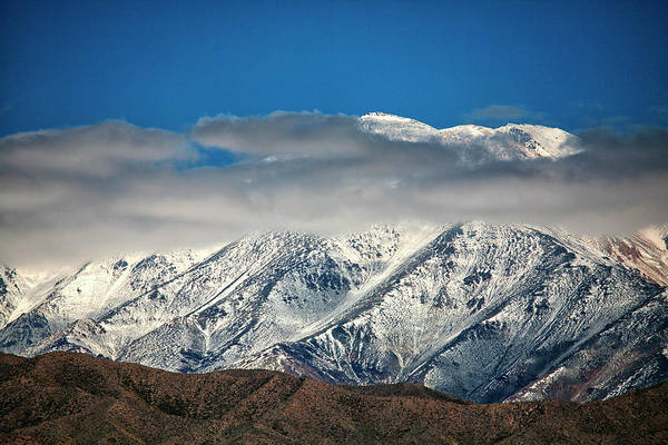 Mendoza Province Photograph - Andes In The Province Of Mendoza by David Santiago Garcia