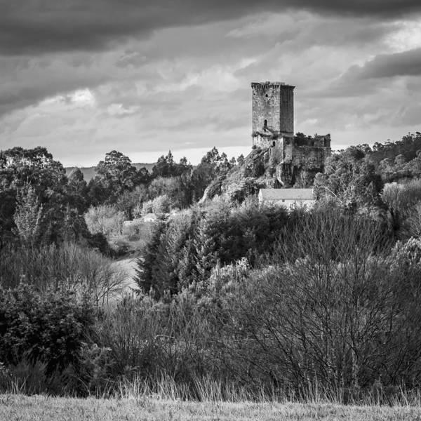 Photograph - Andrade's Castle Galicia Spain by Pablo Avanzini