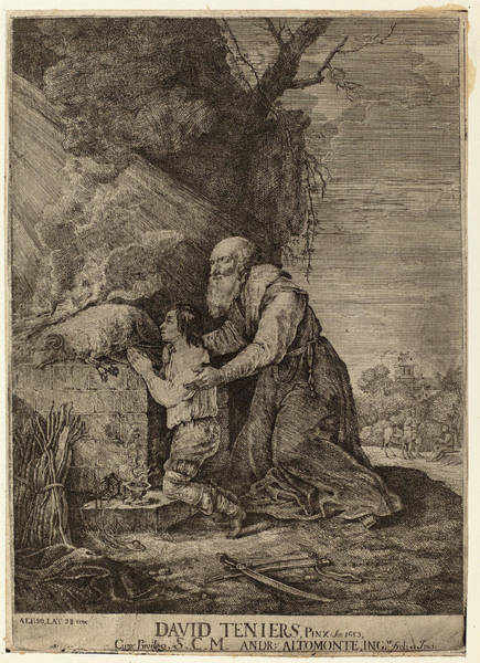 Wall Art - Drawing - Andreas Altomonte, After David Teniers The Younger by Quint Lox