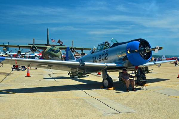 Photograph - Andrews J B Air Show 6 by Ricardo J Ruiz de Porras