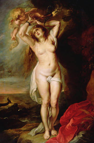 Wall Art - Painting - Andromeda, C1645 by Granger