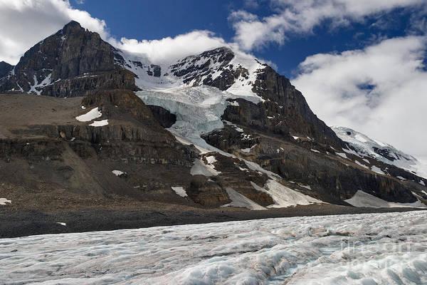Photograph - Andromeda Glacier by Charles Kozierok