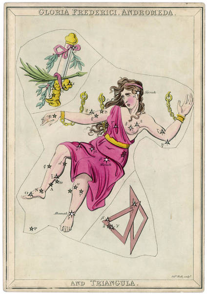 Andromeda (gloria Federici) Art Print