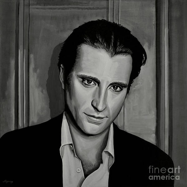 Wall Art - Painting - Andy Garcia by Paul Meijering