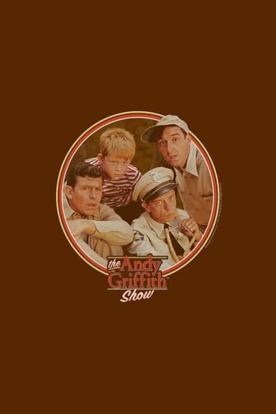 Shows Digital Art - Andy Griffith - Boys Club by Brand A