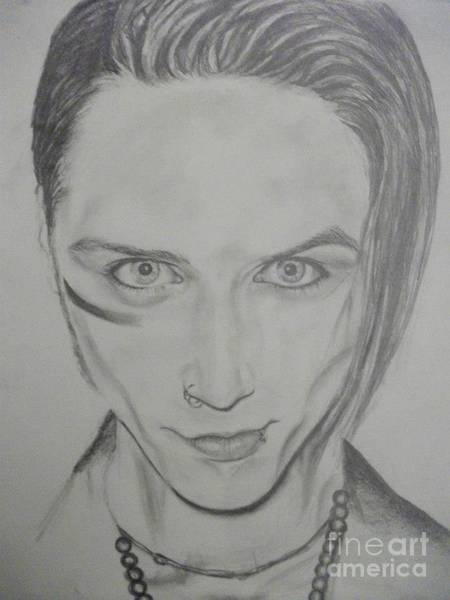 Wall Art - Drawing - Andy Sixx by Andrea Carrasco