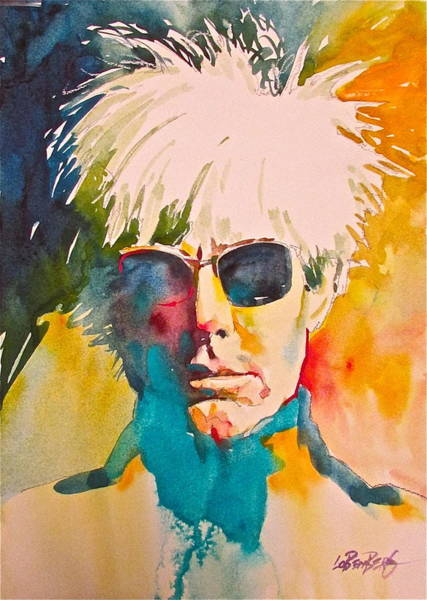 Painting - Andy Warhol by David Lobenberg