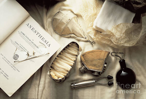 Photograph - Anesthesiology by Brooks  Brown