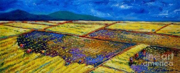 Rice Wall Art - Painting - Ang Gintong Gantimpala by Paul Hilario