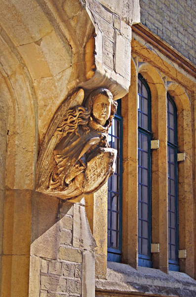 Photograph - Angel At Westminster Abbey by Sharon Popek