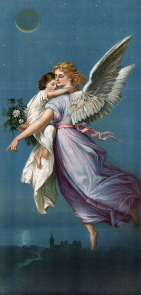 Wall Art - Painting - Angel, C1901 by Granger