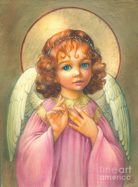 Son Digital Art - Angel Child by MGL Meiklejohn Graphics Licensing