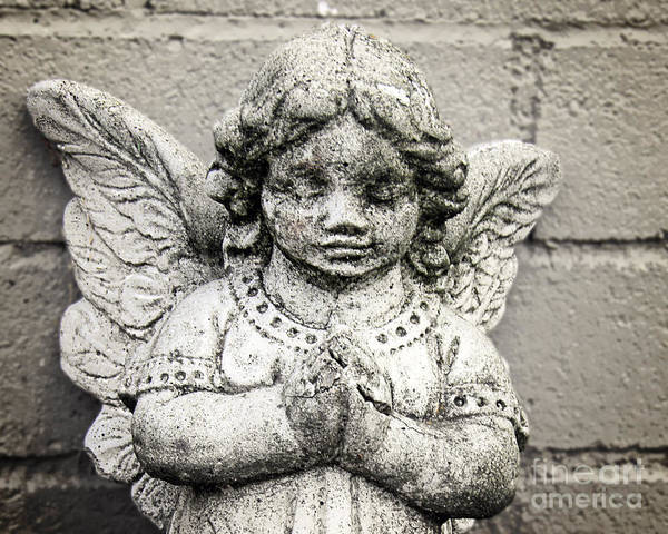 Wall Art - Photograph - Angel by Emily Kelley