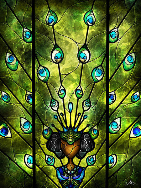 Digital Art - Angel Eyes by Mandie Manzano