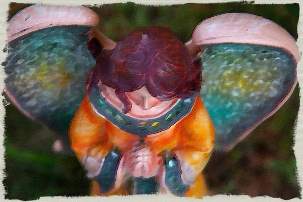 Photograph - Angel From Above by Alice Gipson