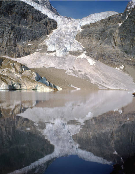 Photograph - 1m3811-angel Glacier Reflect by Ed  Cooper Photography