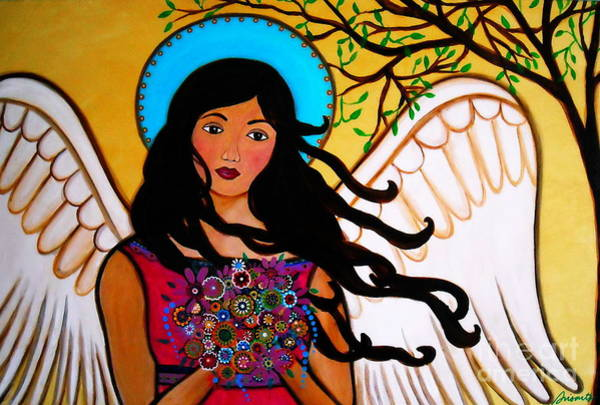 Painting - Angel Grace by Pristine Cartera Turkus