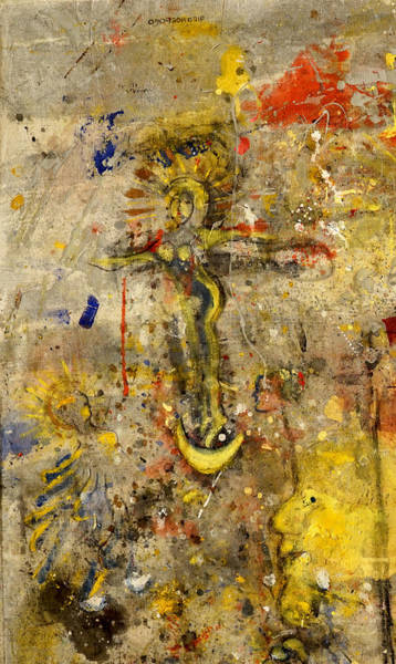 Mixed Media - Angel In Journey by Giorgio Tuscani