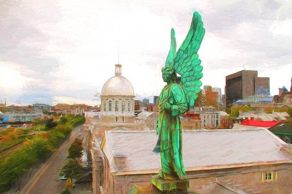 Photograph - Angel In Montreal by Alice Gipson