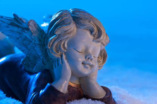 Photograph - Angel In Snow  by U Schade