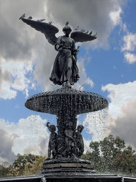 Photograph - Angel In The Clouds by Alice Gipson