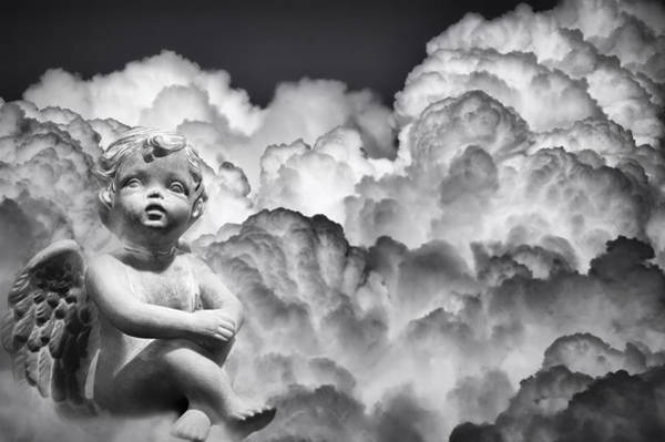 Photograph - Angel In The Clouds by Carolyn Marshall