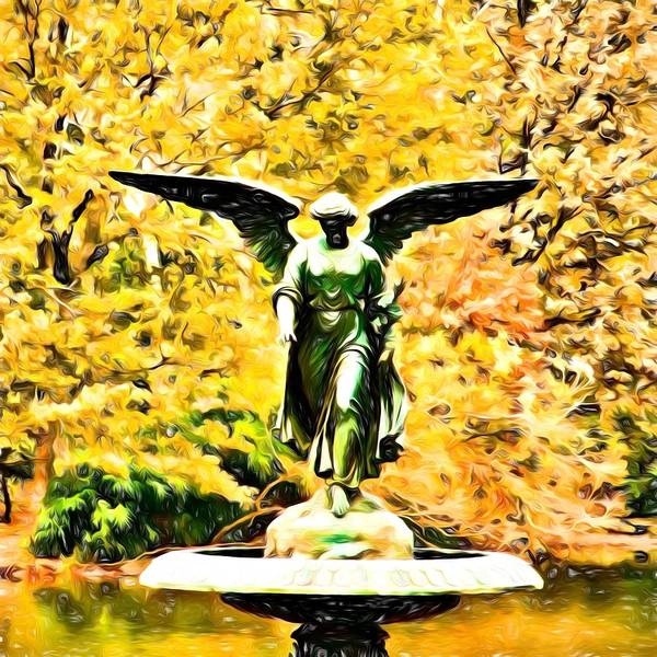 Photograph - Angel In The Park by Alice Gipson