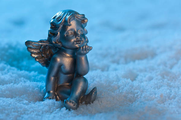 Photograph - Angel In The Snow by U Schade